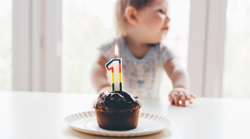 First Birthday Cake- First Birthday Gifts From Grandparents